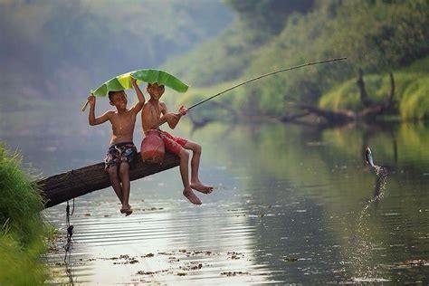 Pancing Sederhana cara memancing agar dapat banyak ikan di sungai 2018