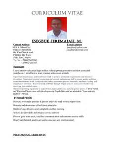 Electrical Maintenance Supervisor Sle Resume by Electrical Supervisor Technician Electrician