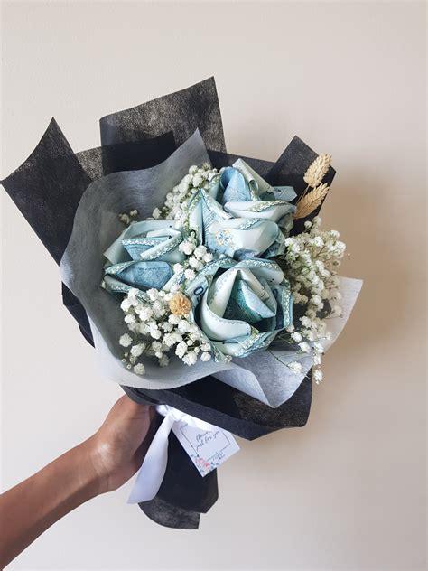 money rose bouquet money flower wedding gift duit