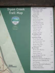 Tryon Creek State Park Map by Tryon State Park