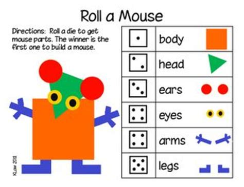 classroom math games that kids will love that make free roll a mouse dice game my students will love this