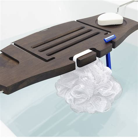 aquala bathtub caddy buy umbra aquala bath rack amara