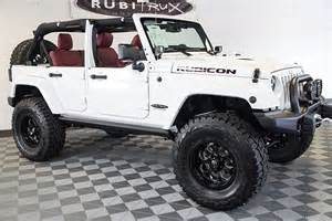White Jeep Wrangler Rubicon 2016 Jeep Wrangler Rubicon Rock Unlimited White
