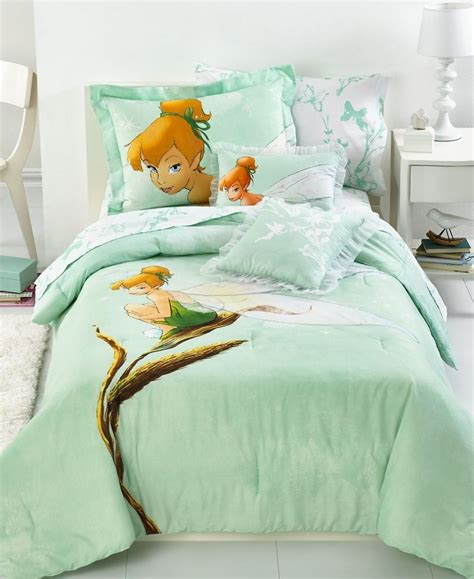 disney full comforter sets new disney fairies tinkerbelle kids comforter set green