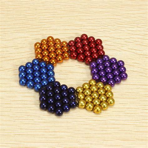 magnetic bead 216pcs 5mm colorful diy neocube magic magnetic balls