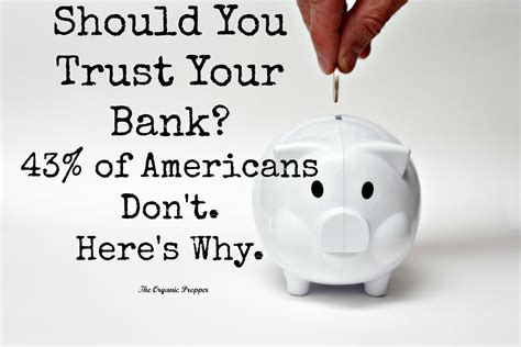 money you bank should you trust your bank 43 of americans don t here s