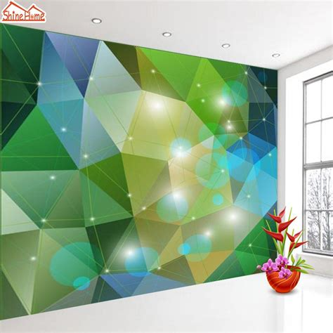cetak wallpaper dinding murah kombinasi warna hijau tua nature green wallpapers