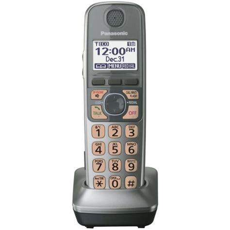Panasonic Cordless Phone Kx Tge274 Silver panasonic kx tga470s handset for kx tg77xx cordless phones series silver