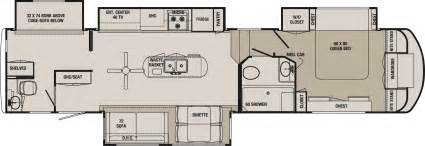 bunk room floor plans blackwood 36bh fifth wheel bunk house jpg