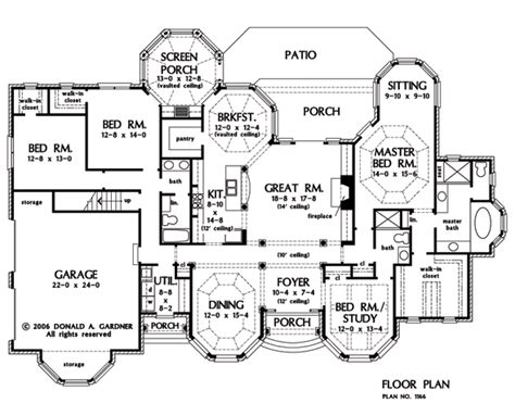 Large Ranch Floor Plans Large Ranch House One Story Ranch House Floor Plans House Plans 1 Floor Mexzhouse