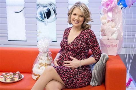 Baby News From Britain by Morning Britain S Hawkins Gives Birth To