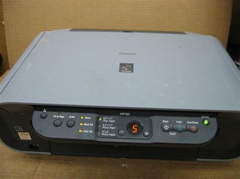 canon pixma mp160 k10282 color inkjet printer ebay