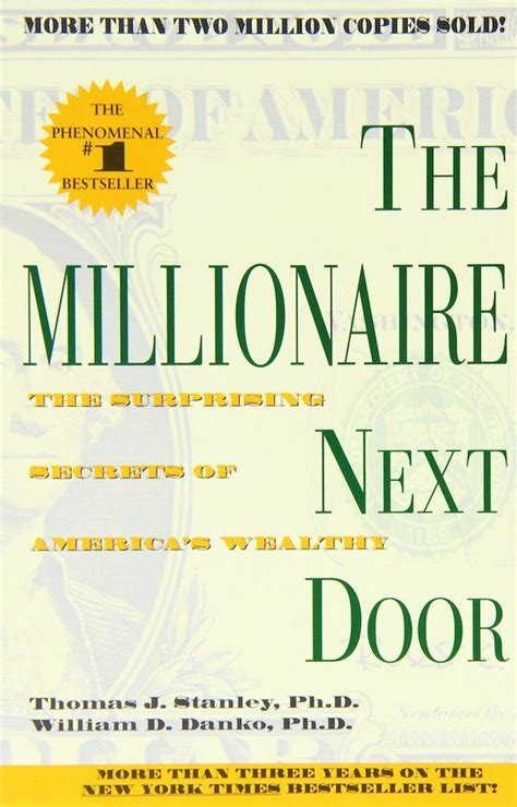 The Millionaire Next Door by How Not To Be Broke 10 Powerful Books To Learn About Money Management