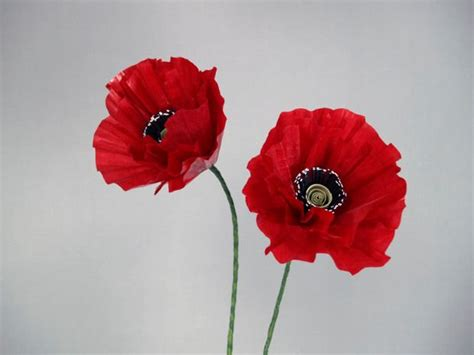 How To Make Paper Poppy Flowers - 1000 ideas about poppy flowers on poppies