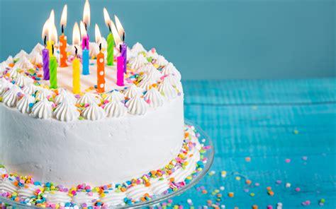 candele per torte di compleanno scarica sfondi buon compleanno candele torta torta di