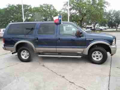 all car manuals free 2005 ford excursion seat position control sell used 2005 4x4 excursion eddie bauer 6 0l v8 diesel rear seat entertainment in houston