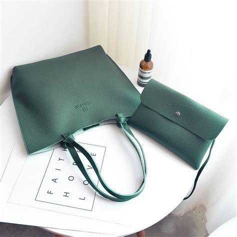 fashion bags set of 2 leather handbags messenger