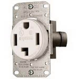 hubbell wiring rr430fw tradeselect 174 standard size blade power receptacle flush mount