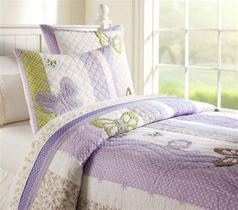 pbkids bedding pottery barn kids camille lavender full queen quilt 2