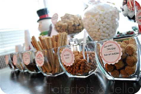 toppings for hot chocolate bar hiving out hot chocolate bar