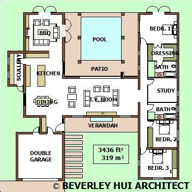 h shaped house floor plans h shaped house plans with pool in the middle pg2 my
