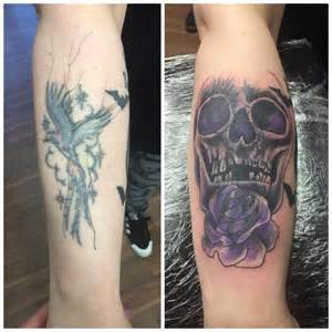 cover up letter tattoos horror cover up horror photography