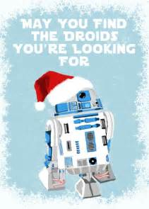 Items similar to star wars holiday cards set of 10 r2d2 may you find