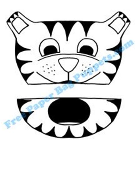 tiger puppet template