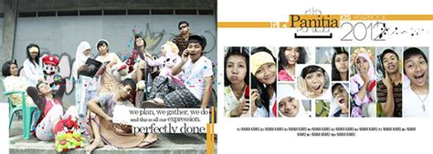yearbook design indonesia senior high school yearbook for aparture creative on behance