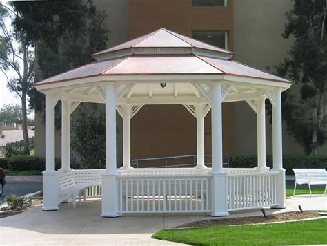 Sam S Club Gardena Ca 22 Foot Octagonal Garden Gazebo With Pagoda Copper Roof Yelp