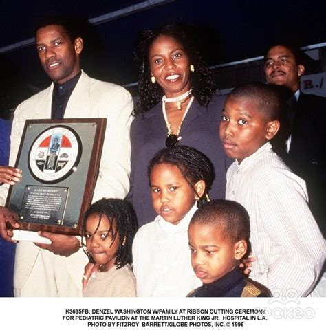 denzel washington and family denzel washington family google search family