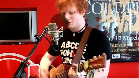 ed sheeran unplugged ed sheeran feeling good nova acoustic youtube