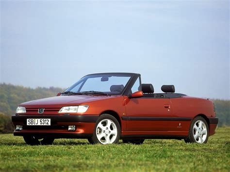 peugeot 306 convertible peugeot 306 cabriolet specs 1994 1995 1996 1997