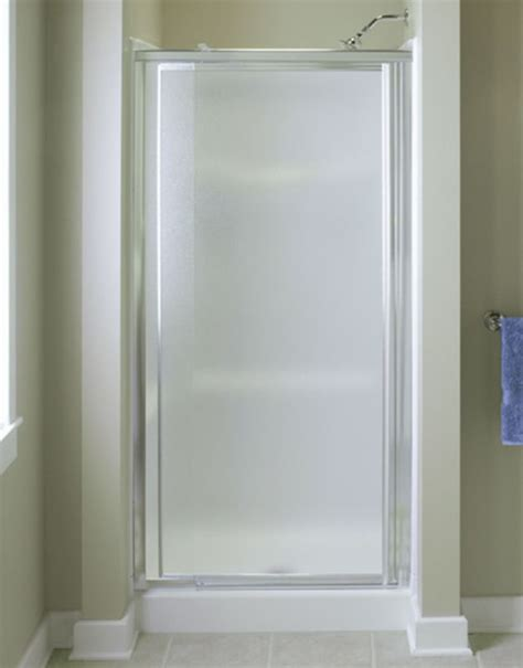 Wide Shower Doors by Sterling 1530d 42s Silver Vista Pivot Ii 69 Quot High X 42