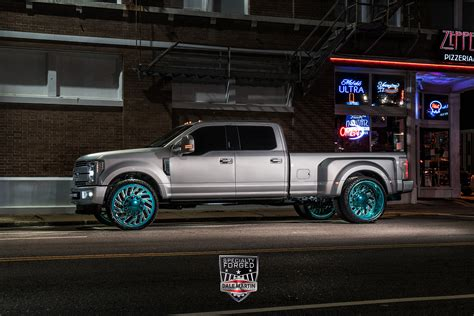 ford  dually  specialty forged wheels