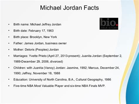 michael jordan information biography michael jordan biography