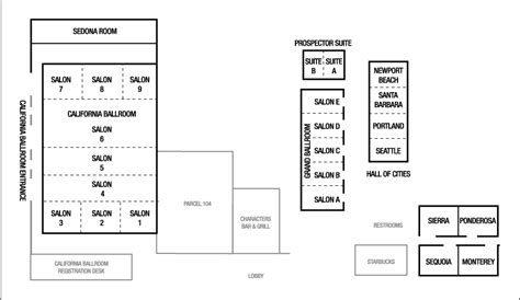 mission santa clara de asis floor plan santa clara conference center hotel meeting space in