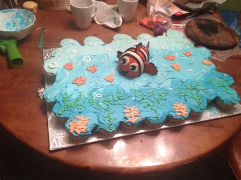 Nemo Baby Shower Cake by Finding Nemo Baby Shower Cake Partyyyyyyyy Finding Nemo Birthday Cakes And