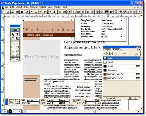 layout buku dengan adobe pagemaker adobe pagemaker ladda ner