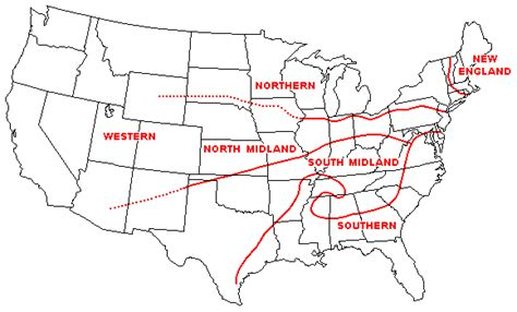 kentucky dialect map kentucky specifically louisville south or midwest