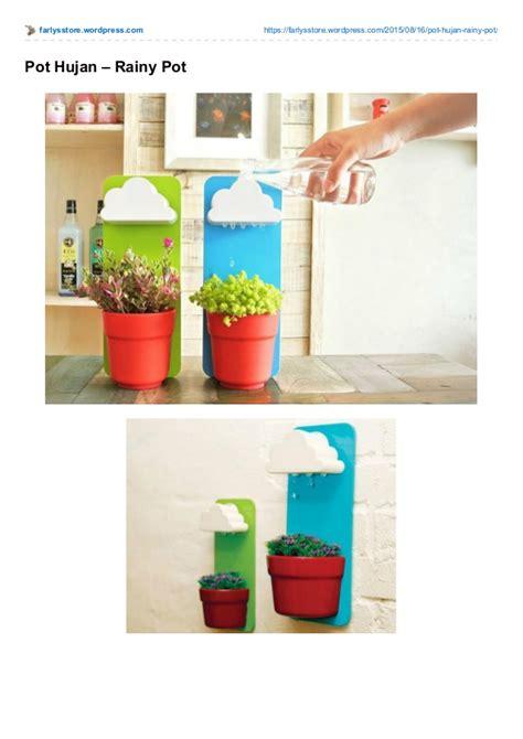 Pot Tanaman Hujan Rainy Pot Pot Penyiram Tanaman Otomatis