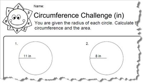 get printable area c all worksheets 187 circumference worksheets printable