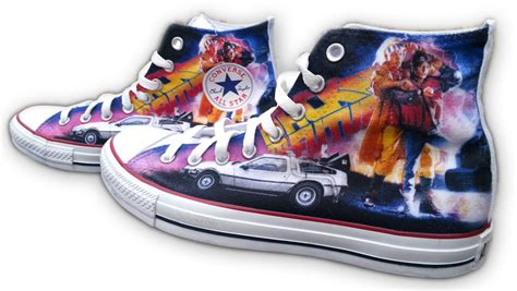 All Costum All back to the future custom converse all