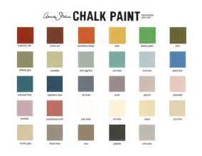 sloan chalk paint color card diy paint colors colors and chalk paint colors
