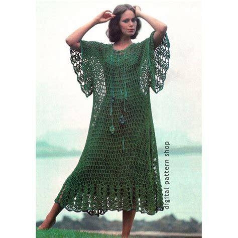 pattern hippie dress crochet beach dress pattern mesh caftan hippie dress crochet
