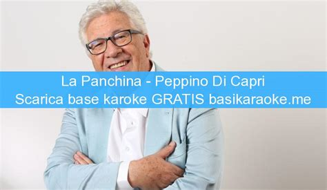 la panchina peppino di la panchina peppino di basi karaoke midi gratis