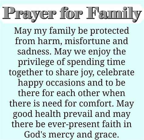 prayer for family pinteres