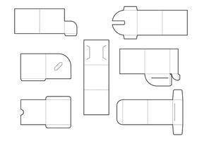 dvd envelope template perfume box design free vector stock