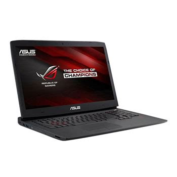 asus 17 3 inch g751jy nvidia gtx 980m gsync gaming laptop ln66248 g751jy t7303h scan uk