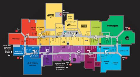 mall map mall map of ontario mills 174 a simon mall ontario ca